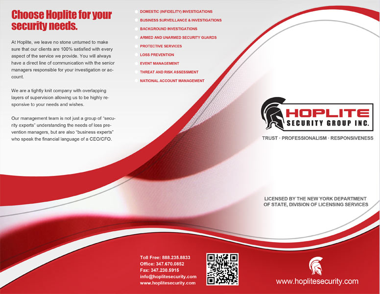 design brochures sample graphic